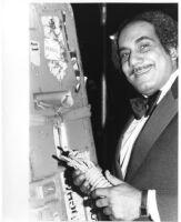 Walter Booker at Bridges Auditorium, Claremont University, California [descriptive]