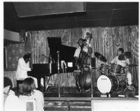 Horace Tapscott Trio at the Lighthouse Cafe in Hermosa Beach, California [descriptive]