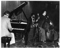 Bill Evans Trio at Howard Rumsey's Lighthouse club in Hermosa Beach, California, 1977 [descriptive]