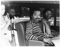 Ron Carter, Tony Williams, and Herbie Hancock at the Hollywood Playboy Jazz Festival, 1983 [descriptive]