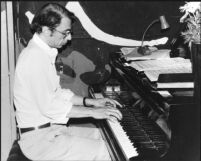 Dave Frishberg at the piano, 1979 [descriptive]