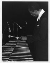 Milt Jackson playing vibes, 1979 [descriptive]