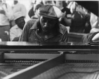 Horace Silver playing piano, 1979 [descriptive]