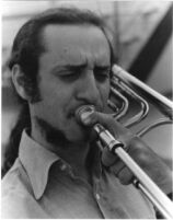 Glenn Ferris playing trombone, 1979 [descriptive]