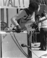 Albert Collins at the 1977 San Francisco Blues Festival [descriptive]