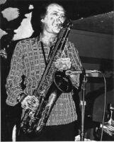 Warne Marsh playing saxophone, 1977 [descriptive]