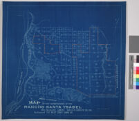 Map of the subdivision of the Rancho Santa Ysabel and adjacent lands, San Luis Obispo Co., California