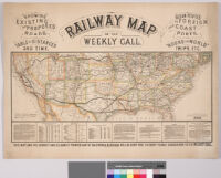 Railway map of the Weekly Call