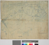 Map of the Los Angeles-Pacific R.R.