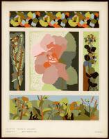 Jean Burkhalter. Collection Décors et couleurs Album No. 2.