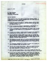 Letter, 1947 October 17, to Mr. Edgar Kaufmann, Pittsburgh, Penn. [copy]