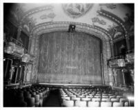 Follies Theatre, auditorium, proscenium