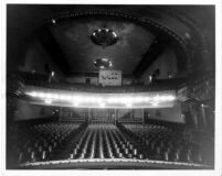 Follies Theatre, auditorium, balcony