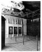Fox Theatre, Long Beach, entrance with poster cases