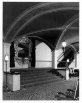Fox Theatre, Long Beach, lobby stairway