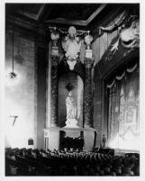Fox Theatre, Long Beach, auditorium, left side of proscenium