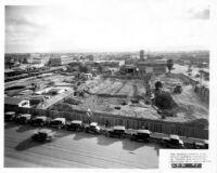 Fox Theatre, Phoenix, Arizona, construction site