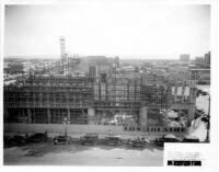 Fox Theatre, Phoenix, Contruction site [6], framing