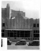 Fox Theatre, Phoenix, Construction site [8], façade