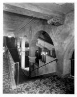 Fox Theatre, Bakersfield, stair