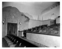 Fox Theatre, Bakersfield (?), auditorium detail