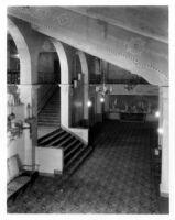 Fox Theatre, Bakersfield (?), foyer