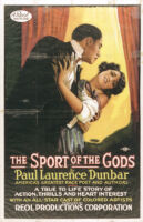 The Sport of the Gods by Paul Laurence Dunbar [motion picture poster]