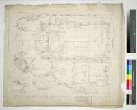 Linda Vista Theatre, Tepeyac, plan drawing