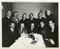 Raymond Chandler and other writers from Black Mask, 1939