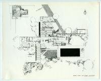 Kaufmann House, floor plan