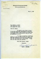 Letter, 1948 May 11, Pittsburgh, Penn. to Richard J. Neutra, Los Angeles, Calif.