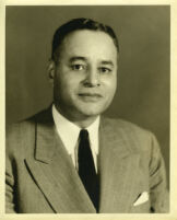 Ralph J. Bunche, portrait, circa 1945