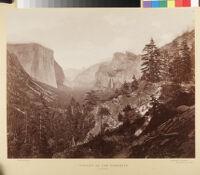 Yosemite photographs by Muybridge