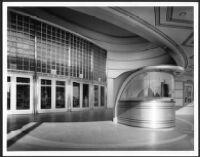 Academy Theatre, Inglewood, ticket booth, entry doors