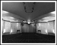 Academy Theatre, Inglewood, auditorium