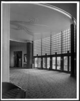 Academy Theatre, Inglewood, foyer
