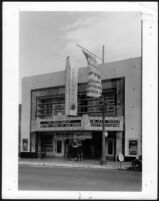 Alvarado Theatre, street elevation after remodel