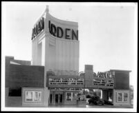 Arden Theatre, Lynwood, street elevation, day