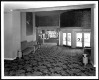 Arden Theatre, Lynwood, foyer, candy counter