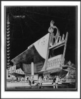 Bay Theatre, Pacific Palisades, photograph of rendering