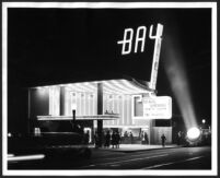 Bay Theatre, Pacific Palisades, exterior on opening night