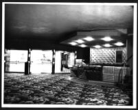 Bay Theatre, Pacific Palisades, foyer