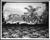Bay Theatre, Pacific Palisades, mural, main foyer