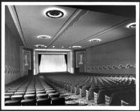 Bay Theatre, Pacific Palisades, auditorium