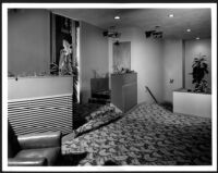 Bay Theatre, Pacific Palisades, entrance to ladies'  lounge
