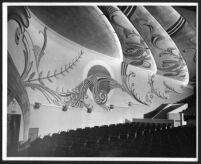 Carlos Theatre, San Carlos, auditorium mural