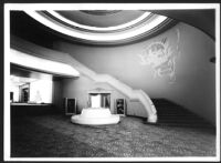 Chapultepec Theatre, Mexico City, staircase in foyer