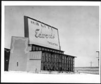 Drive-in theatre, Arcadia, screen, street view