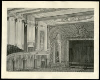 Fox Wilshire, Beverly Hills, auditorium, photograph of rendering