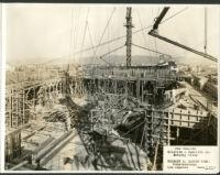 Fox Wilshire, Beverly Hills, construction [1] [1930-02-27]